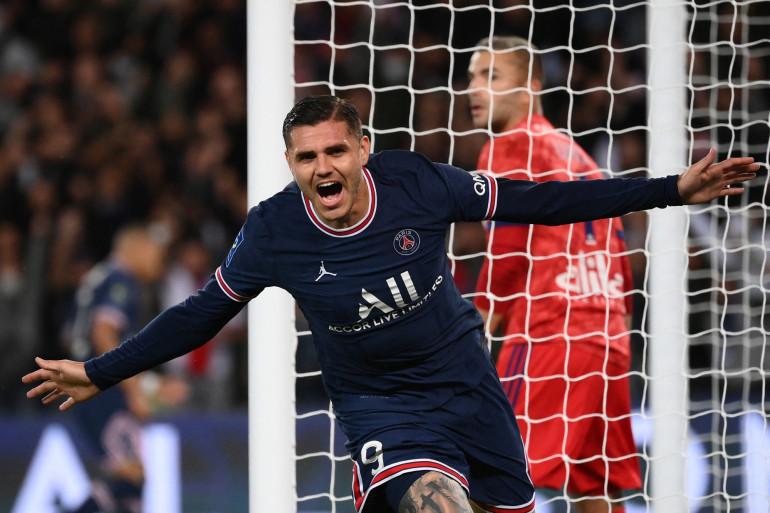 Mauro Icardi a délivré tout un stade en marquant le but de la victoire du PSG contre Lyon à la 94e minute de jeu