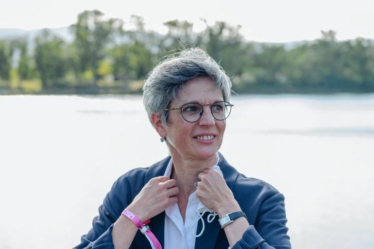 Sandrine Rousseau, le 27 août 2021.