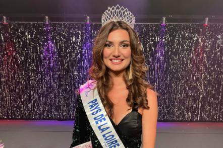 Line Carvalho, 20 ans, a été élue Miss Pays de la Loire