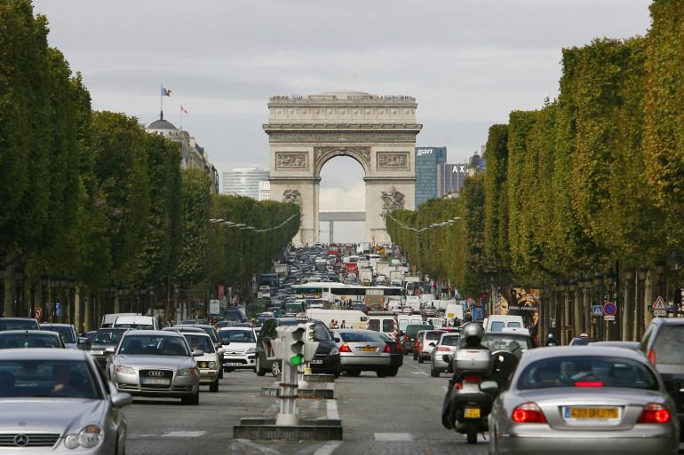 L'avenue des Champs Élysées, illustration