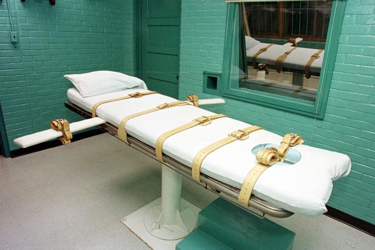 Une salle pour injection létale dans une prison américaine (image d'illustration).