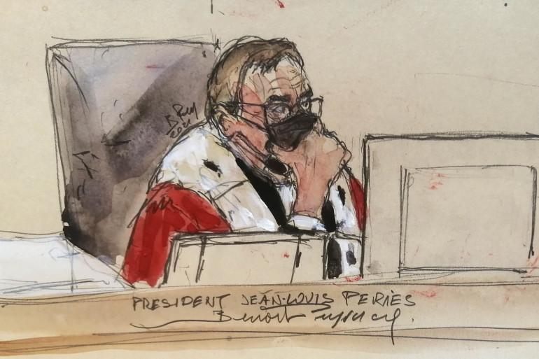 ean-Louis Périès est le président de la cour d'assises spéciale qui va juger les 20 accusés du procès des attentats du 13 novembre 2015.