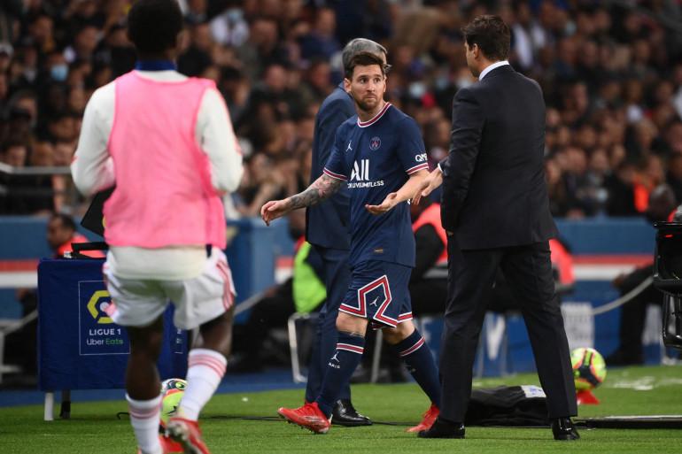 C'était la première au Parc pour Lionel Messi