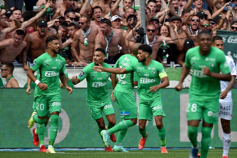 Les Verts de Saint-Étienne à Geoffroy-Guichard le 8 août 2021