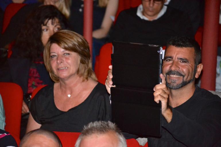 Le 18 mai 2013 à Perpignan, Marie-Josée Benitez et Francisco Benitez sont venus voir leur fille sur le podium lors d'un événement précédant le concours Miss Roussillon.