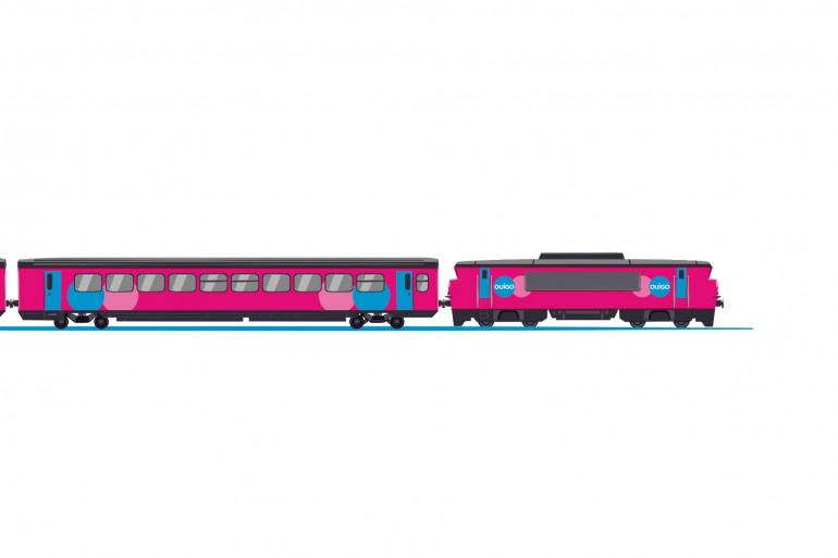 Les trains corail seront entièrement relookés pour l'occasion.