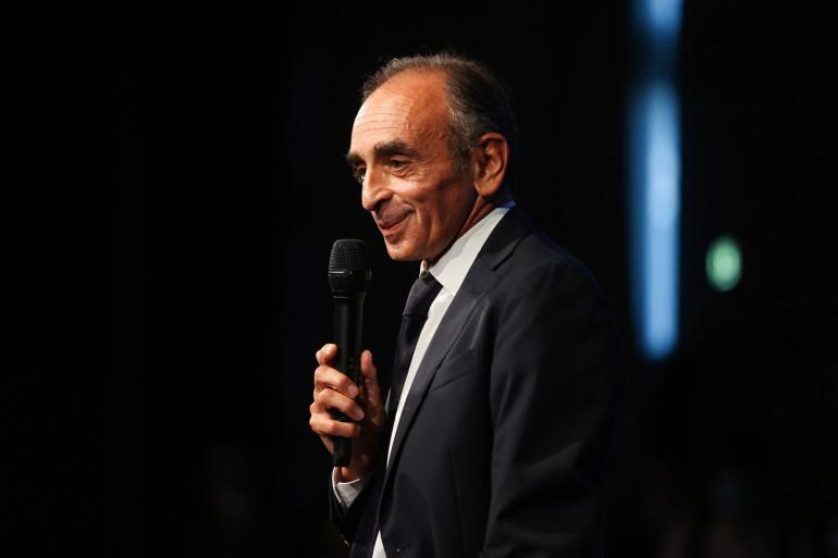 Éric Zemmour le 18 septembre 2021 à Nice