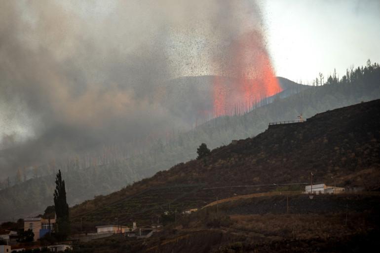 Un nuage de gaz chargé de dioxyde de soufre provenant du volcan Cumbre Vieja se dirige droit vers la France