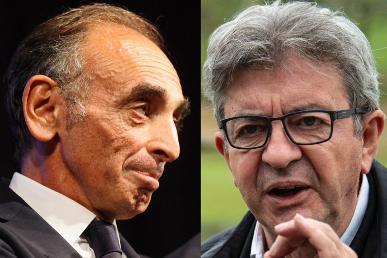 Éric Zemmour et Jean-Luc Mélenchon vont se retrouver pour débattre ce jeudi 23 septembre.