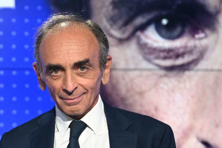 Éric Zemmour le 23 septembre 2021, lors d'un débat avec Jean-Luc Mélenchon