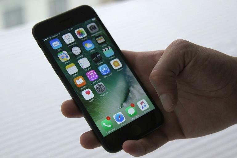 L'iPhone 7 lancé en septembre 2016 par Apple