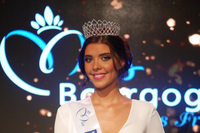Chloé Galissi, 21 ans, a été élue Miss Bourgogne 2021