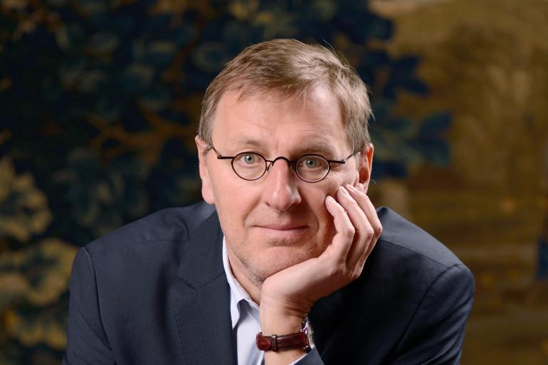 Grégoire Delacourt en 2013