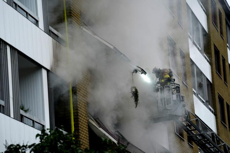 Une explosion est survenue dans un immeuble de Göteborg en Suède le mardi 28 septembre 2021