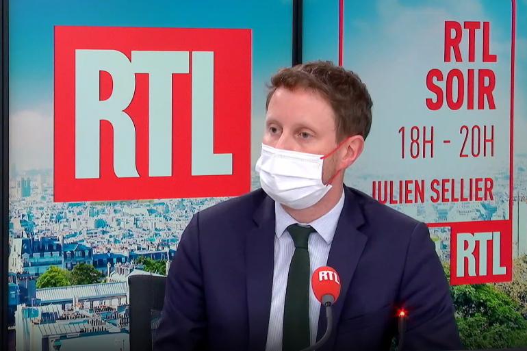 Clément Beaune, dans le studio de RTL le 28 septembre 2021