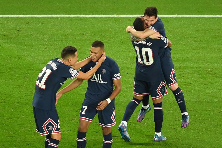 Herrera, Mbappé, Neymar et Messi au Parc des Princes le 28 septembre 2021