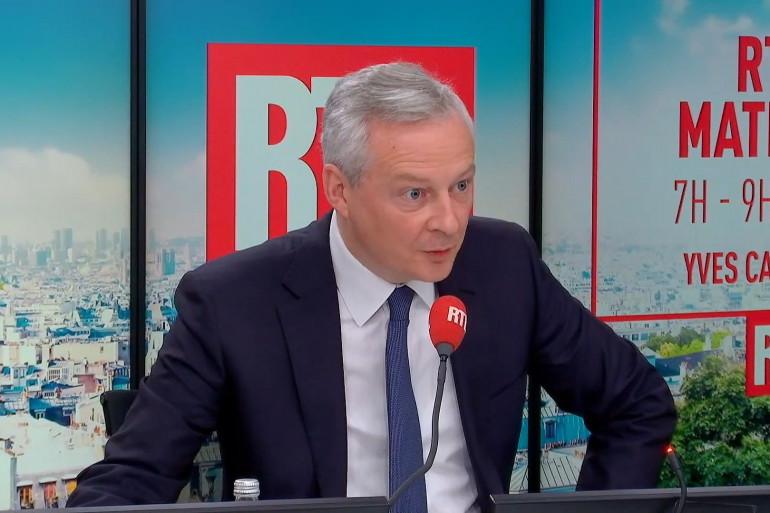 Bruno le Maire au micro de RTL le 6 octobre 2021