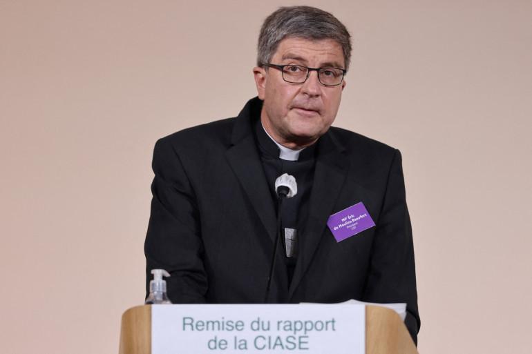 Éric de Moulins-Beaufort, le président de la Conférence des évêques de France le 5 octobre 2021