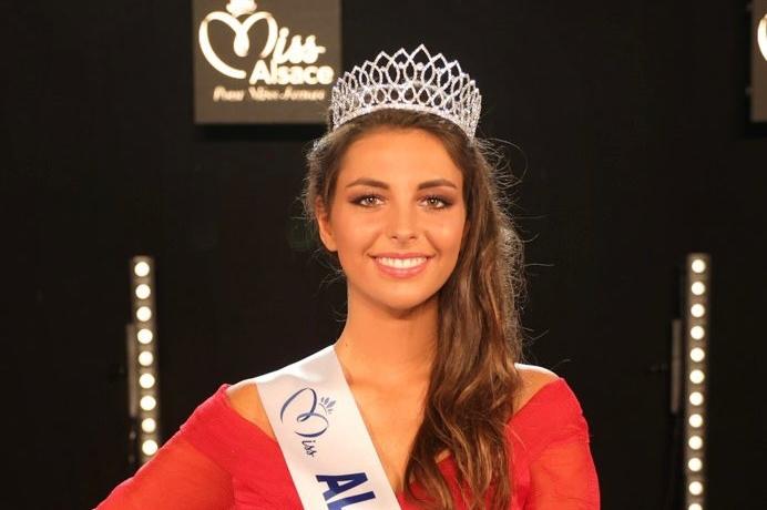 Cécile Wolfrom a été élue Miss Alsace 2021