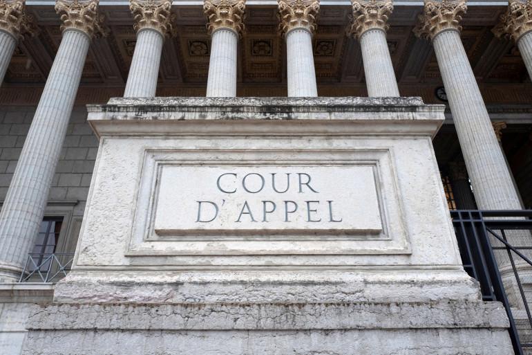 La cour d'appel d'un palais de justice (illustration)