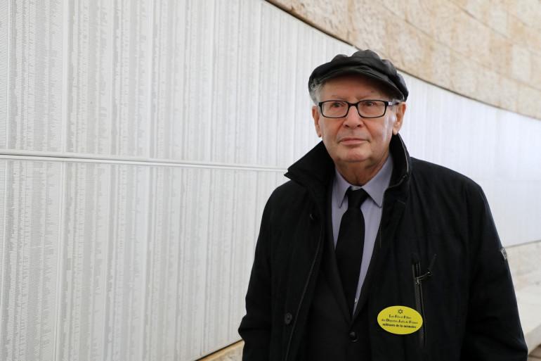Serge Klarsfeld, le 23 janvier 2020