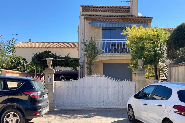 La maison de la femme retrouvée morte décapitée, à Agde
