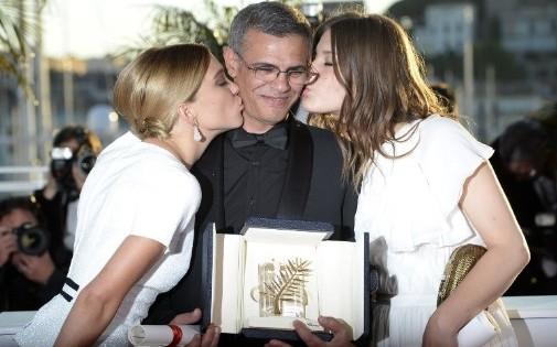 """""""La Vie d'Adèle"""" a décroché la Palme d'Or en mai 2013"""