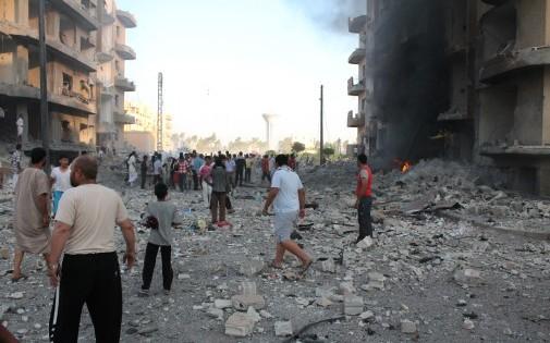 Raqqa en Syrie, le 7 août 2013.