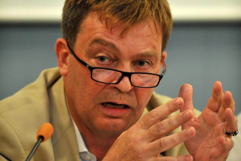 Pierre Henry, de l'association France Terre d'Asile