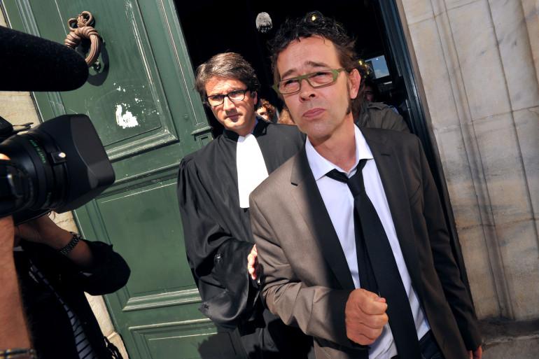 Nicolas Bonnemaison à la sortie de sa comparution devant la cour d'appel de Pau, le 6 septembre 2011