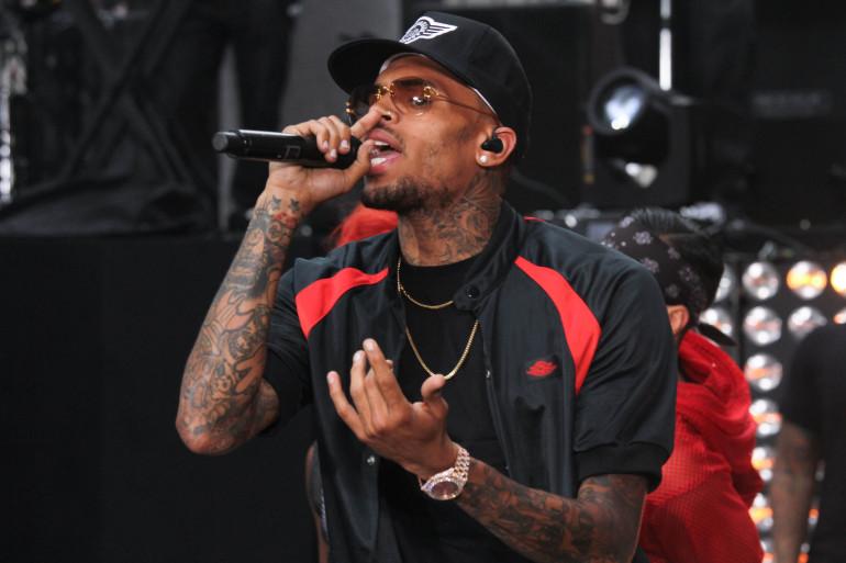 """Chris Brown à NBC """"Today"""" le 30 août 2013."""