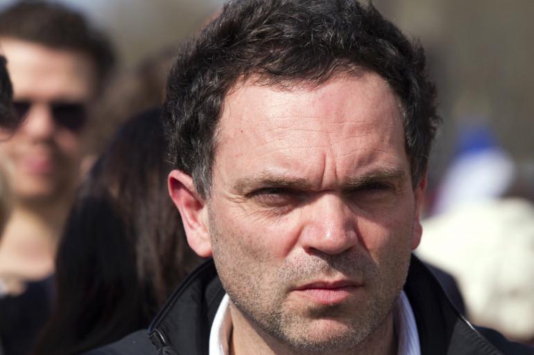 """L'écrivain Yann Moix, ici en mars 2012, a reçu le prix Renaudot pour son livre """"Naissance""""."""