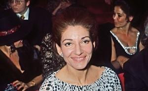 Maria Callas en 1971.