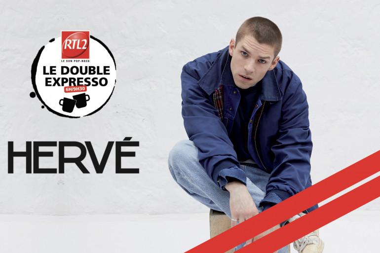 Hervé dans le Double Expresso RTL2