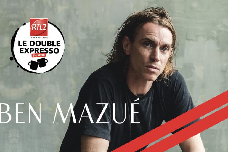 Ben Mazué dans Le Double Expresso RTL2