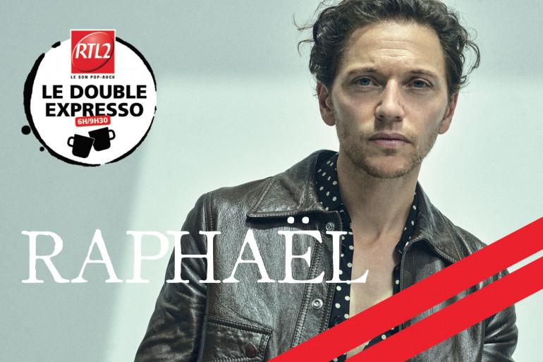 Raphael dans le Double Expresso RTL2