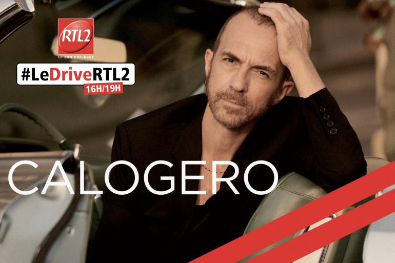Calogero dans #LeDriveRTL2