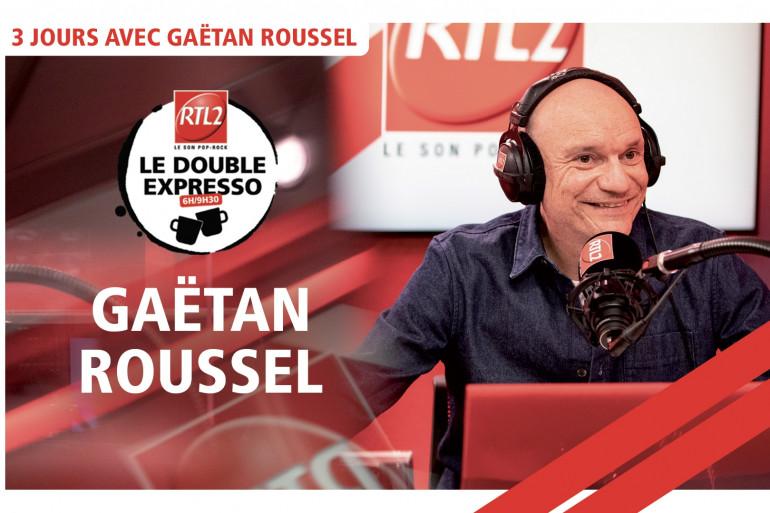 Gaëtan Roussel dans le Double Expresso RTL2