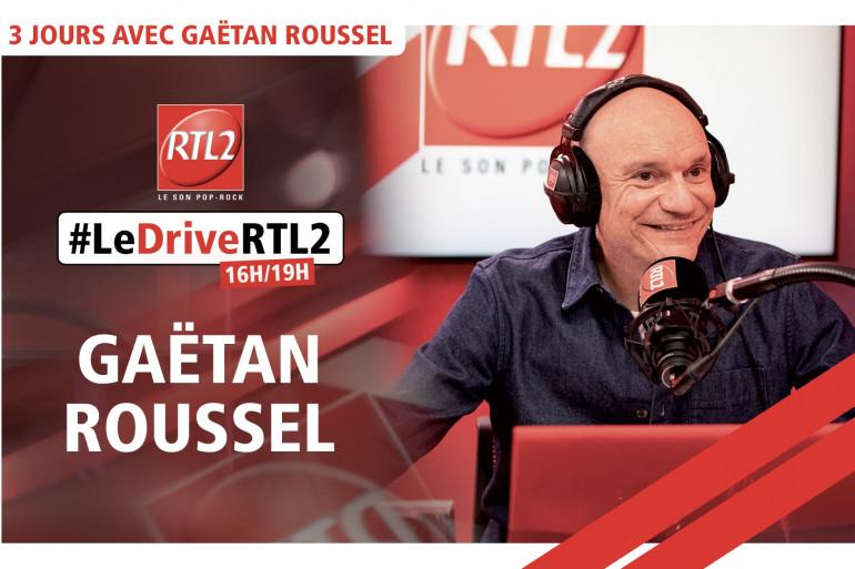 Gaëtan Roussel dans #LeDriveRTL2