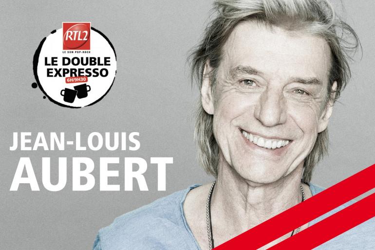 Jean-Louis Aubert dans le Double Expresso RTL2