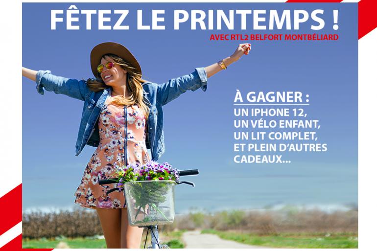 Fêtez le printemps avec RTL2 Belfort Montbéliard