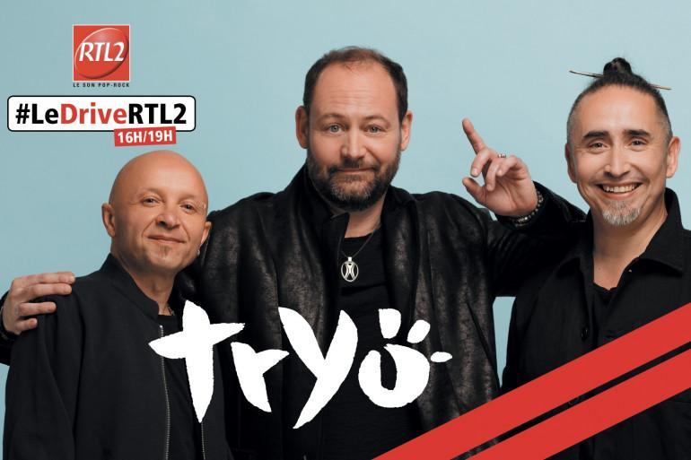 Tryo dans #LeDriveRTL2