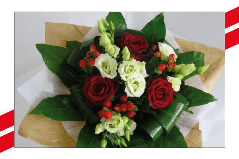 Bouquet de fleurs A la Botte et Le Bonheur des Fleurs