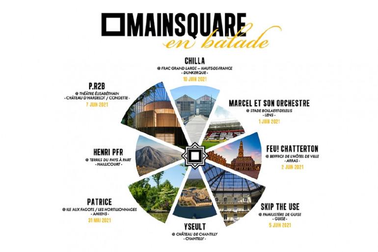 En 2021, le Main Square part en balade dans les territoires de la région Hauts-de-France
