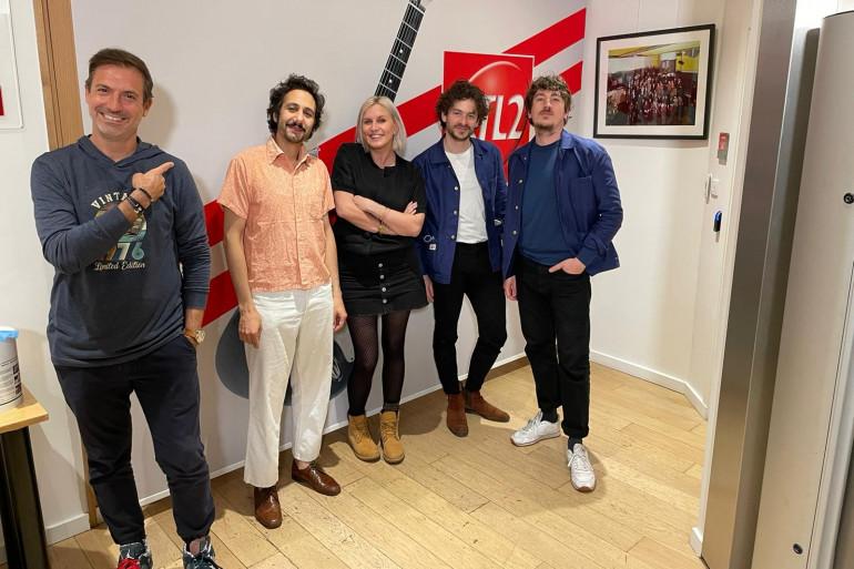 Feu! Chatterton dans Le Double Expresso RTL2 (28/05/21)
