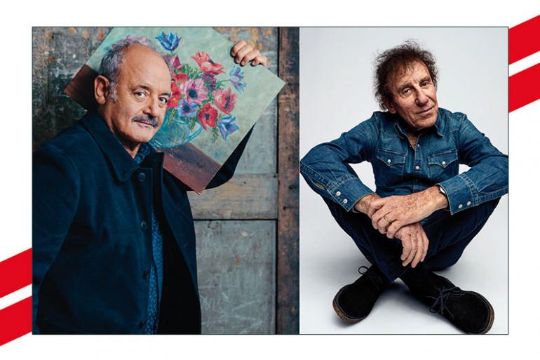 Louis Chedid et Alain Souchon