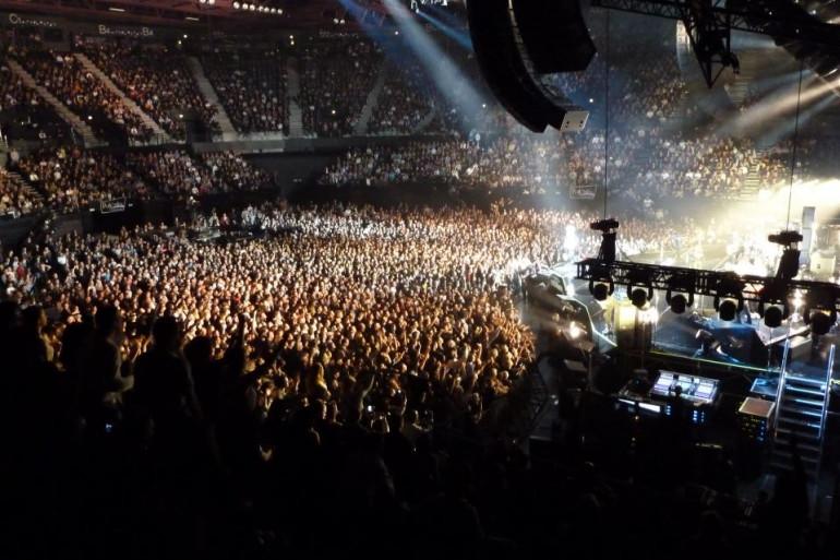 Lenny Kravitz à l'Arena de Montpellier le 20/10/11 (copyright Park&Suites Arena)
