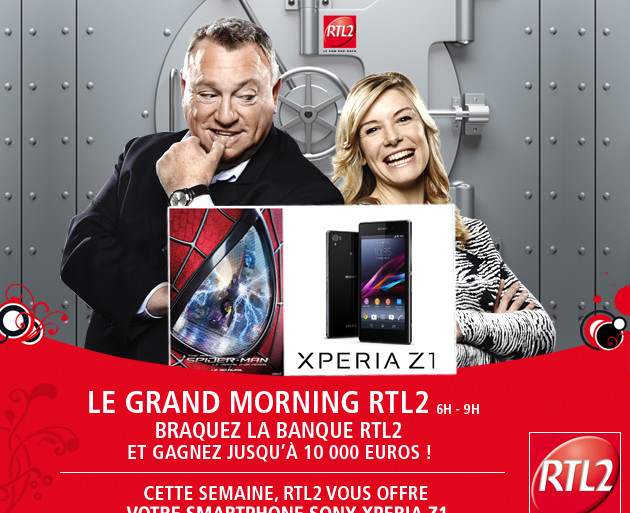 Grand Morning RTL2 Sony xperia