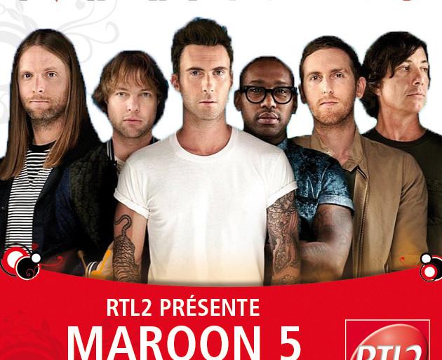 Maroon 5 en concert au Madison Square Garden à New York