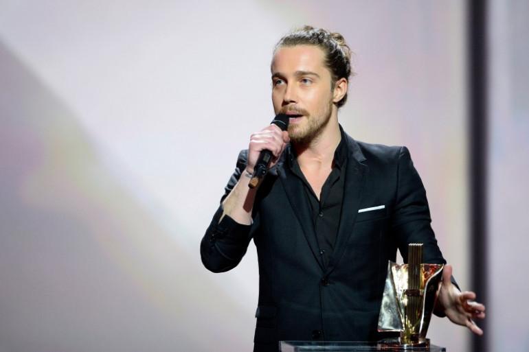 Julien Doré à la 30e édition des Victoires de la Musique, le 13 février 2015